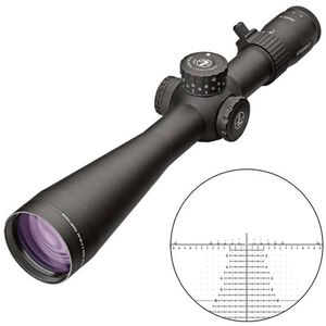 Leupold Mark 5HD 5-25x56 Rifle Scope H59 Non-Illuminated Reticle 35mm Tube 1/10 Mil Adjustments Side Focus Parallax First Focal Plane Matte Black Finish