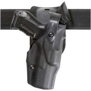 Safariland Model 6365 Low Ride Level III Retention Duty Holster GLOCK 17, 17C, 22, 22C, 31 Right Hand STX Tactical Finish Black 6365-83-411
