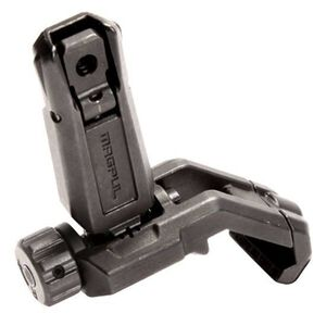 Magpul Industries MBUS PRO Offset Rear Sight 45 Degree Offset Melonited Steel Black MAG526