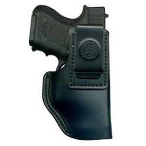 DeSantis Insider IWB Holster For GLOCK/SIG/Ruger Right Hand Leather Black