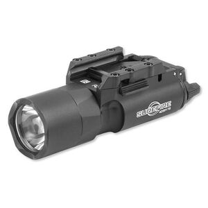 Surefire X300 Ultra LED Rail Mounted WeaponLight 600 Lumen 2x CR123A Battery Ambi Toggle Switch Aluminum Body Black X300U-B