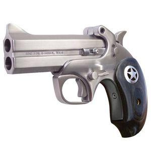 "Bond Arms Ranger II Derringer .410 Bore/.45 Long Colt 4.25"" Barrel 2 Rounds Black Ash Grips Satin Polish Finish"