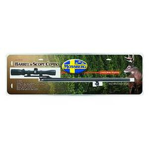 "Mossberg Rifled Slug Barrel And Scope Combo For Remington 870 12 Gauge 24"" Matte 92356"