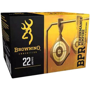 Browning BPR .22 LR Ammunition 400 Rounds HP 36 Grains 1280 fps