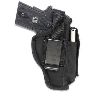 "GunMate Ambidextrous Hip Holster Medium-Frame Pistols 4"" Barrels Size 6 Black"