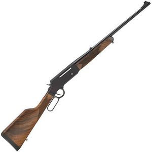 """Henry Long Ranger Lever Action Rifle .223 Rem 20"""" Barrel with Sights 5 Rounds Drilled/Tapped Receiver Solid Rubber Recoil Pad American Walnut Stock Blued Finish"""