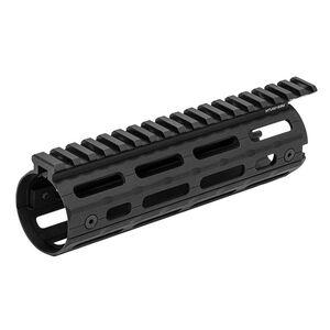 Leapers UTG PRO AR-15 Super Slim Drop In Carbine Length Handguard M-LOK Aluminum Black MTU001SSM