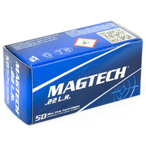 Magtech .22LR Ammunition 50 Rounds LRN 40 Grains