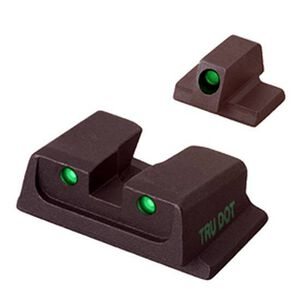 Meprolight Tru-Dot S&W M&P Fullsize Compact 9mm .40S&W Green/Green Night Sight Set ML11766