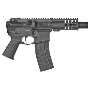 "CMMG Banshee 300 Mk4 .22 Long Rifle Semi Auto Pistol 4.5"" Barrel 25 Rounds RML4 M-LOK Hand Guard KAK Slim Flash Can Cerakote Graphite Black"