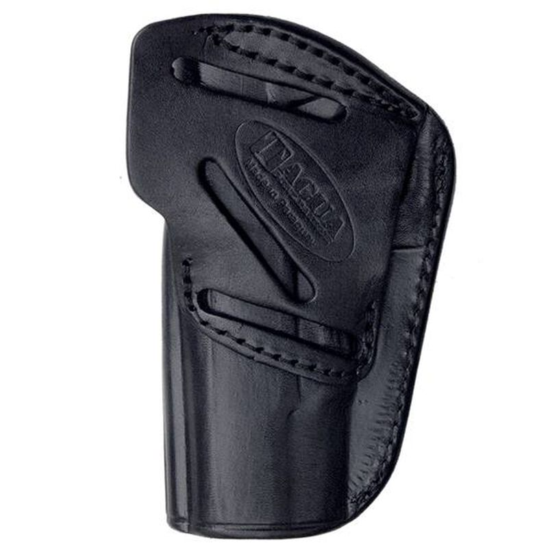 Tagua 4 In 1 Holster Inside the Pants fits GLOCK 26/27/33 Right Hand Leather Black Finish