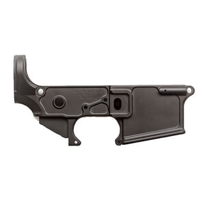2A Armament Palouse-Lite AR-15 Stripped Lower Receiver Forged from 7075-T6 Aluminum Hard Coat Anodized Matte Black