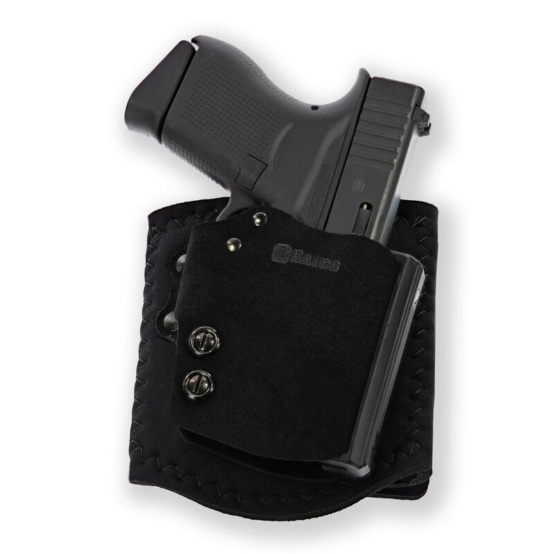 Galco Ankle Guard Ankle Holster for GLOCK 19/19X/23/32/45 Right Hand Neoprene Black