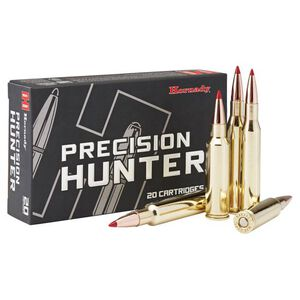 Hornady Precision Hunter .300 WSM Ammunition 20 Round Box ELD-X 200 Grains 82208