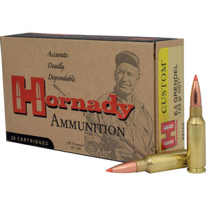 Hornady 6.5 Grendel Ammunition 20 Rounds SST 123 Grains 8152