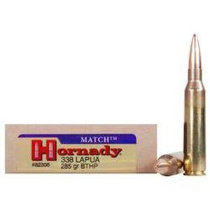 Hornady Match .338 Lapua Mag 250 Grain BTHP 20 Rnd Box