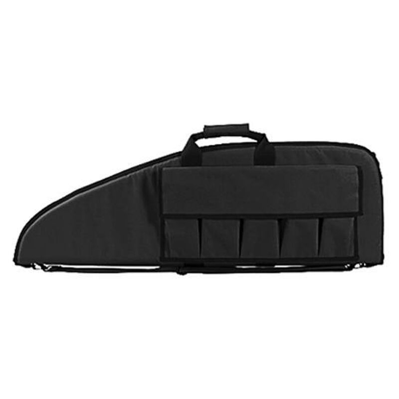 """NcSTAR Single Rifle Case 38""""x13"""" Padded Synthetic Fabric Black"""