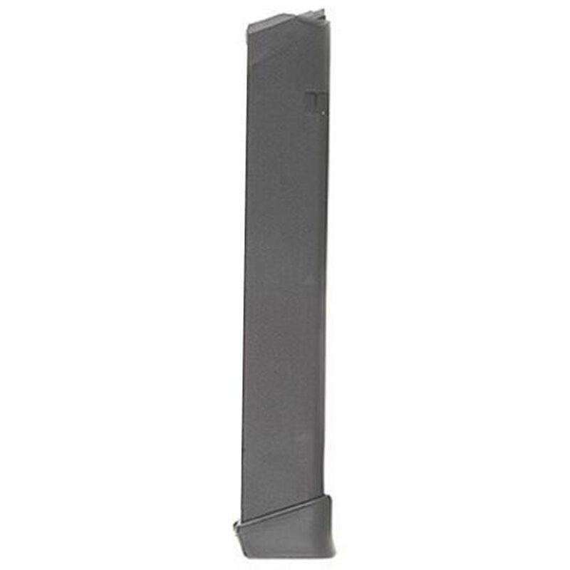 GLOCK 17/19/26/34 Factory Magazine 9mm Luger 33 Rounds Gen 4 Compatible Body Polymer Construction Matte Black Finish