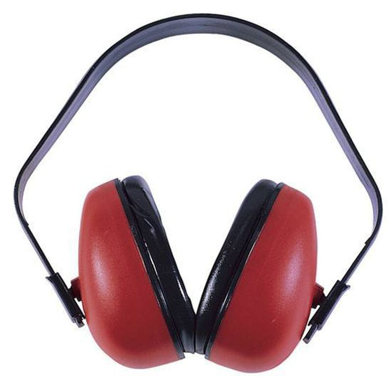 Radians Def Guard Earmuffs Red F0310HC