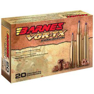 Barnes VOR-TX 7mm-08 Remington Ammunition 20 Rounds 120 Grain TTSX BT Lead Free 3005 fps