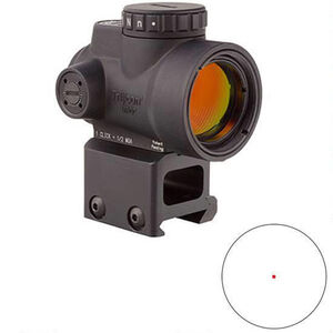 Trijicon MRO 1x25 2.0 MOA Lower 1/3 Co-Witness Mount Black MRO-C-2200006