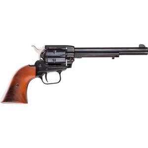 "Heritage Rough Rider Revolver .22 LR/.22 WMR 6.5"" Barrel Cocobolo Grips Blue Finish Holster & Presentation Box"