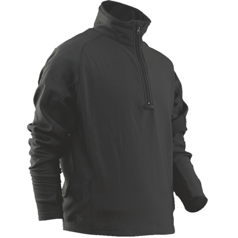 TruSpec 24-7 Series Grid Fleece Pullover Large Black