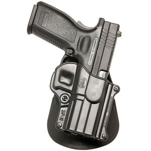 Fobus Holster H&K P2000/Springfield XD/Taurus PT111 G2 Left Hand Paddle Attachment Polymer Black