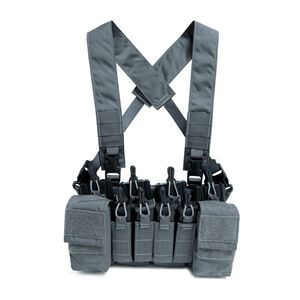 Haley Strategic Partners D3CRX Disruptive Environments Load Bearing Chest Rig One Size Gray