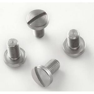 Hogue 1911 Government/Commander Slotted Grip Screws Stainless 45018