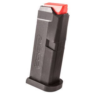 Amend2 GLOCK 42 6 Round Magazine .380 Auto Heavy Duty Spring Impact Resistant Polymer Matte Black