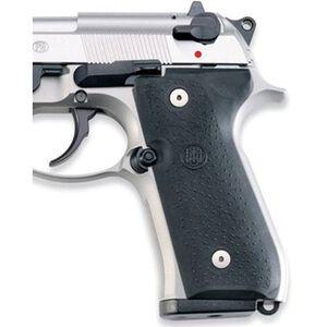 Beretta 92/96 Grip Panels Rubber Black JG92FSR2
