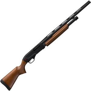 "Winchester SXP Field Youth Pump Action Shotgun 20 Gauge 5 Rounds 18"" Barrel 3"" Chamber Walnut Stock Matte Black"