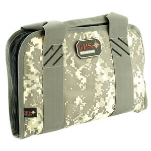G-Outdoors G.P.S. Dual Pistol Case Nylon Digital Camo