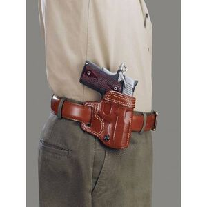 Galco Avenger Belt Holster Glock 17 22 and 31 Right Hand Leather Tan AV224