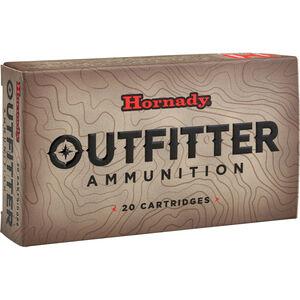 Hornady Outfitter .308 Winchester Ammunition 20 Rounds GMX 165 Grains