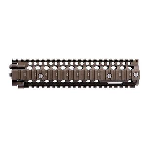 "Daniel Defense MK18 RIS II Rail Interface System 9.55"" AR-15 Free Float Hand Guard 6061-T6 Aluminum Hard Coat Anodized Finish Flat Dark Earth"