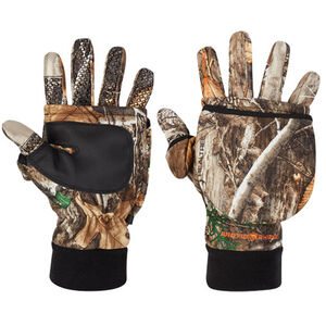 Arctic Shield System Gloves With Tech Fingers Size Large Realtree Edge Camouflage