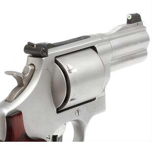 XS Sights DXW Big Dot Night Sights S&W 586/686/625/629/329 Revolvers Green Tritium Front/Solid White Rear Matte Black