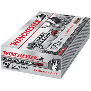 Winchester .300 Winchester Magnum Ammunition 20 Rounds Deer Season XP PT 150 Grains