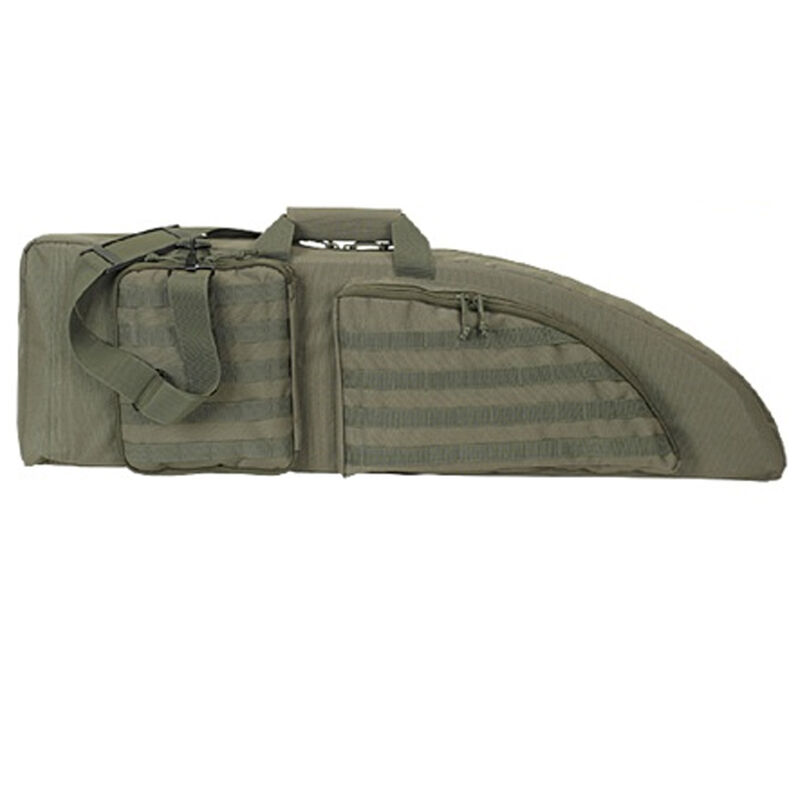 "Voodoo Tactical 36"" Enhanced Short Drag Bag With Shoulder Harness Nylon OD Green 15-015604000"