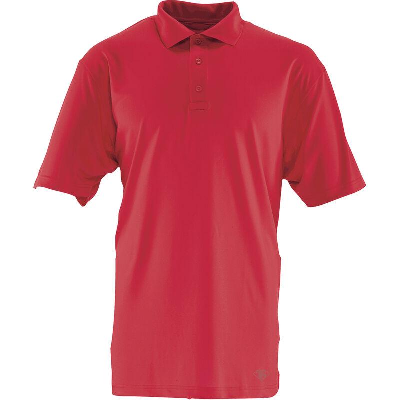 Tru-Spec 24-7 Series Short Sleeve Performance Polo Shirt Men's Polyester Large Range Red