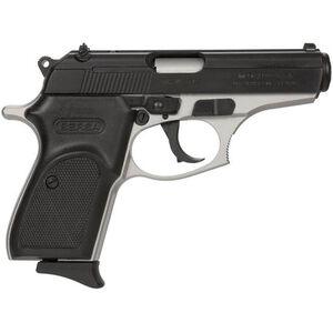 "Bersa Thunder 380 Duotone Semi Auto Pistol .380 ACP 3.5"" Barrel 8 Rounds Synthetic Grips Satin Nickel/Matte Black Finish"