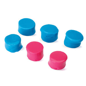 Walkers Game Ear Custom Molded Ear Plug Kit -22dB Noise Reduction Rating Silicone Pink/Teal