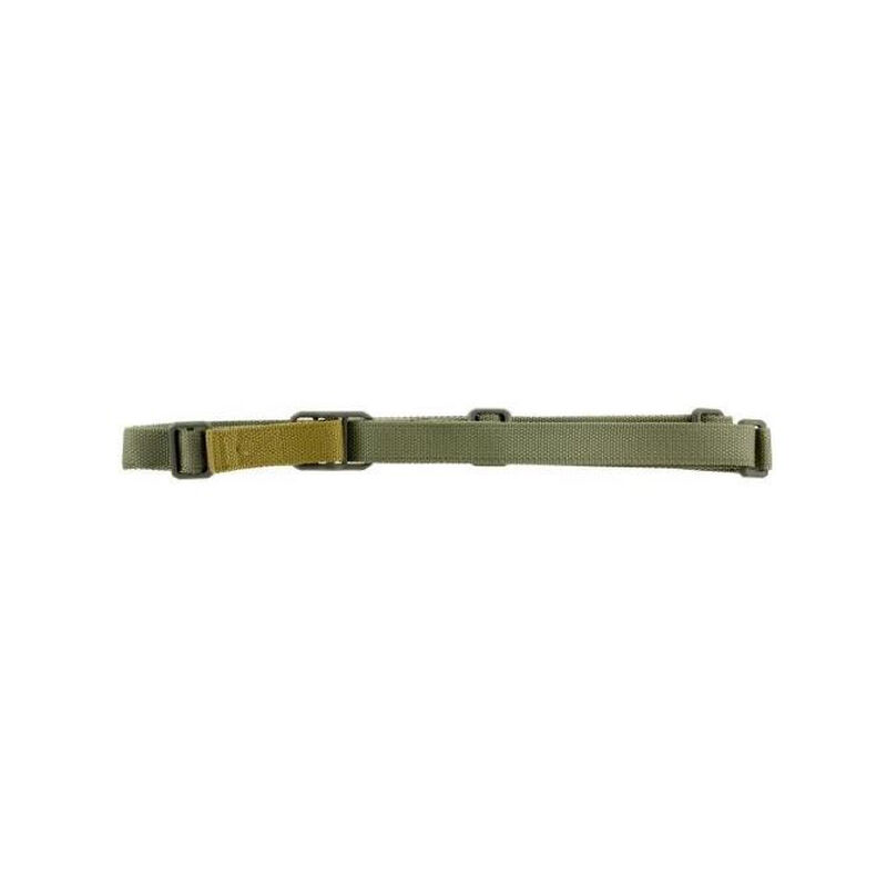 Blue Force Gear Vickers Push Button Sling OD Green Nylon hardware with Push Button Swivels front and rear (Hardware cannot be removed) VCAS-PB-125-AA-OD