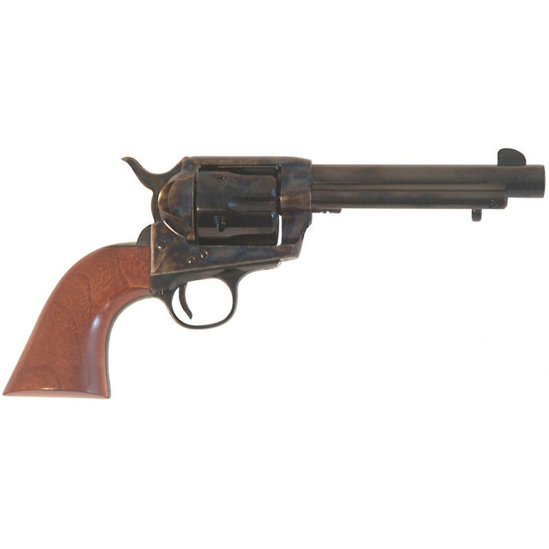 "Cimarron SA Frontier Old Model .45 LC Single Action Revolver 5.5"" Barrel 6 Rounds Walnut Grip Case Hardened/Blued Finish"