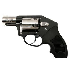 "Charter Arms Off Duty Double Action Revolver .38 Special 2"" Barrel 5 Rounds Compact Rubber Grips Black/Hi Polish Finish 53921"