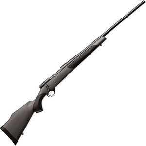 """Weatherby Vanguard Synthetic Bolt Action Rifle .25-06 Rem 5 Rounds 24"""" Barrel Synthetic Stock Matte Blued Finish"""