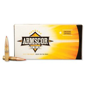 Armscor USA .300 AAC Blackout Ammunition 20 Rounds Hornady AMAX 208 Grains F AC 300AAC-2N
