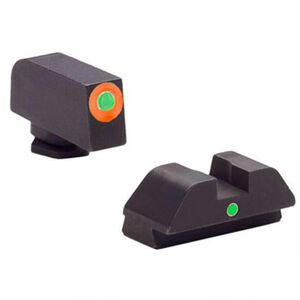 AmeriGlo Tritium I-Dot Sight Set For GLOCK 42/43, Steel